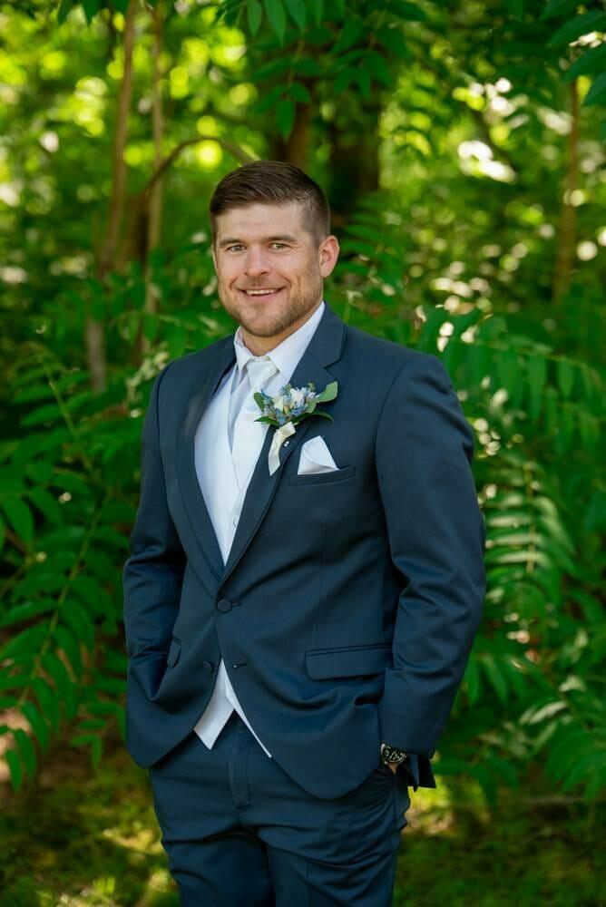 groom portrait at MattLane Farm