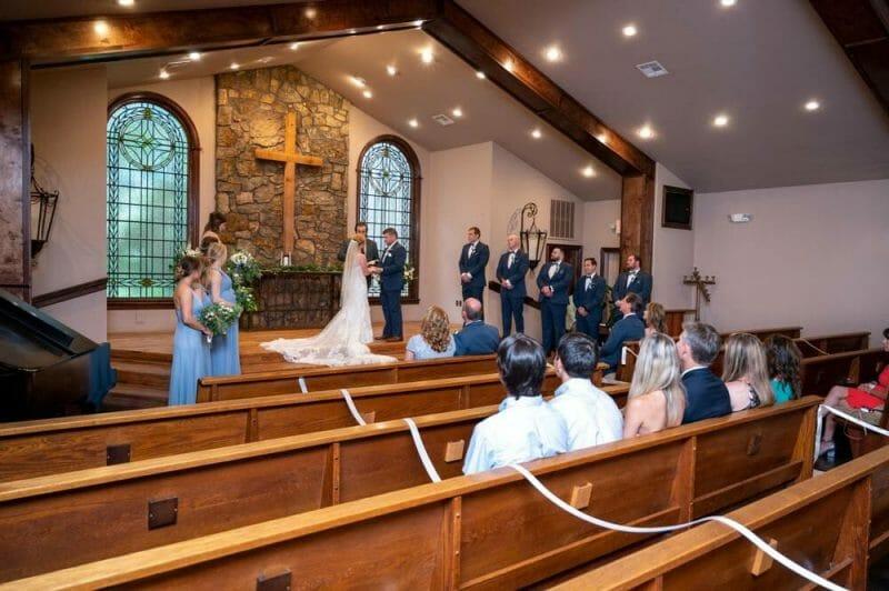 small, intimate wedding after lockdown at Matt Lane Farm