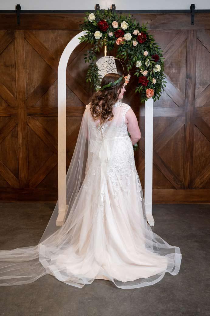 bride at White River Landing