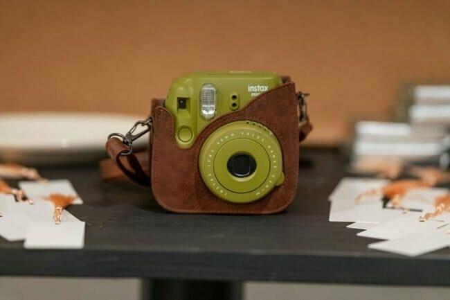 Polaroid camera for wedding