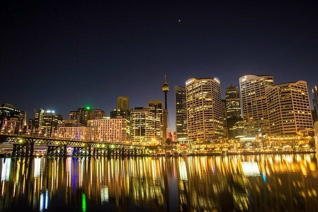 cityscape view of Australia