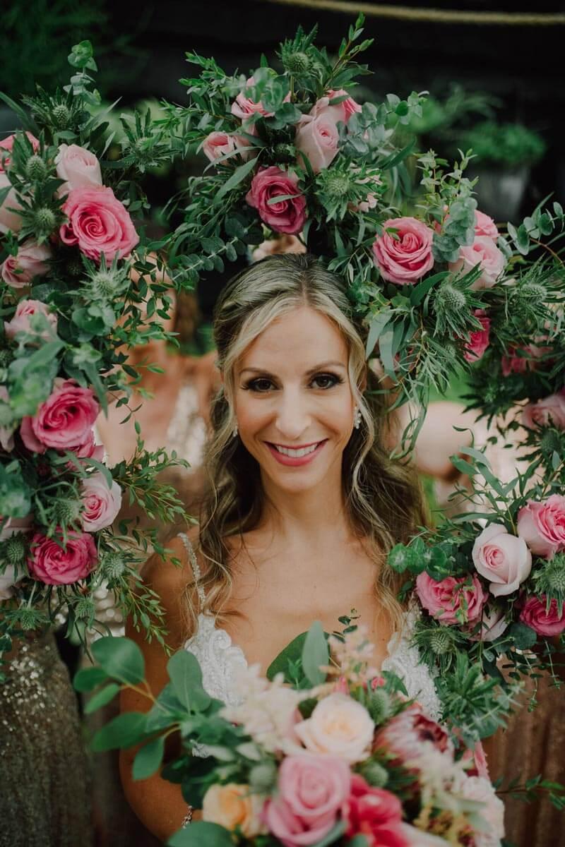Bouquet-Wreath