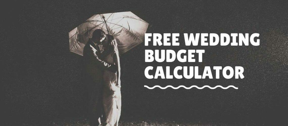 Free Wedding Budget Calculator